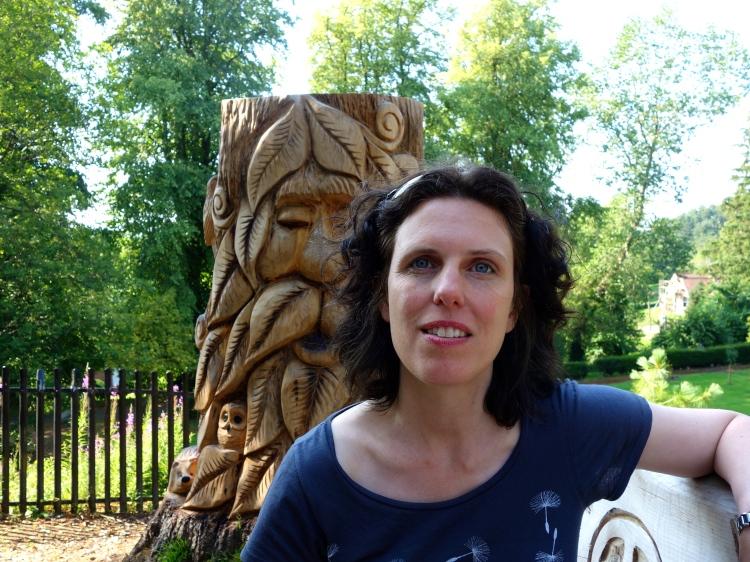 Fairy Dell Castlebank Park, Lanark. Sculpture by Iain Chalmers
